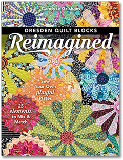 Dresden quilt book by Candy Grisham