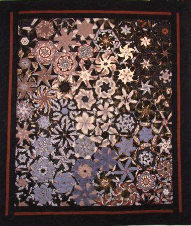 Dresden quilt by Candyce Grisham