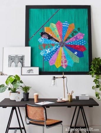 quilt workshop - Dresden Bloom